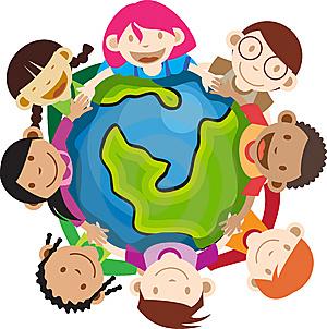 multi-ethnic-kids-holding-globe-thumb6110962